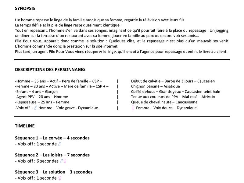 Création du Motion Design de Pile Pour Vous - Agence web - Label Site Nantes